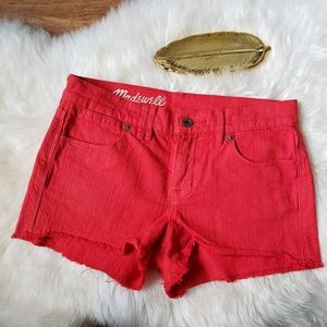 Madewell Denim Cutoff Shorts
